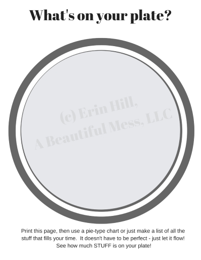 Whats On Your Plate A Beautiful Mess Llc